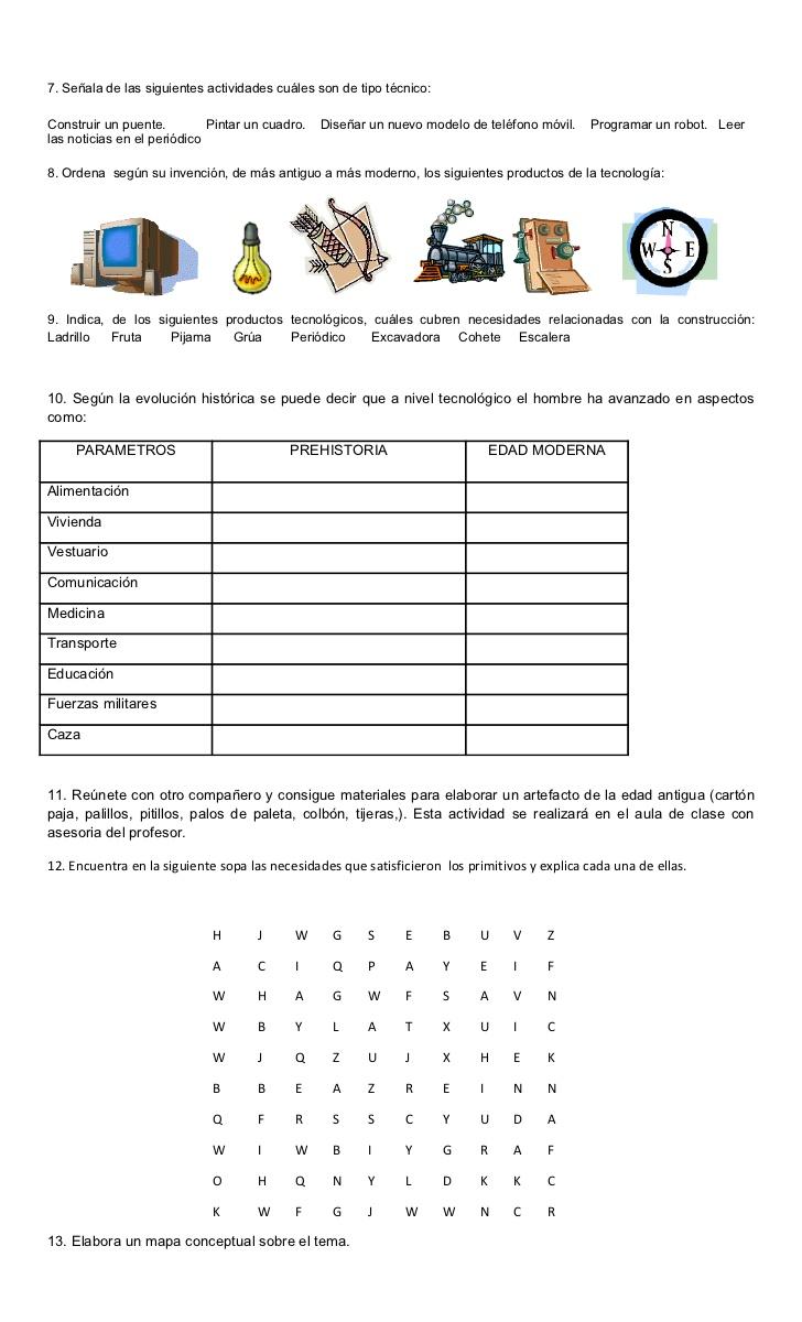 Guia Tecnologia 6 1er P Clases De Tecnologia Tecnologia Para Niños Libros De Informatica