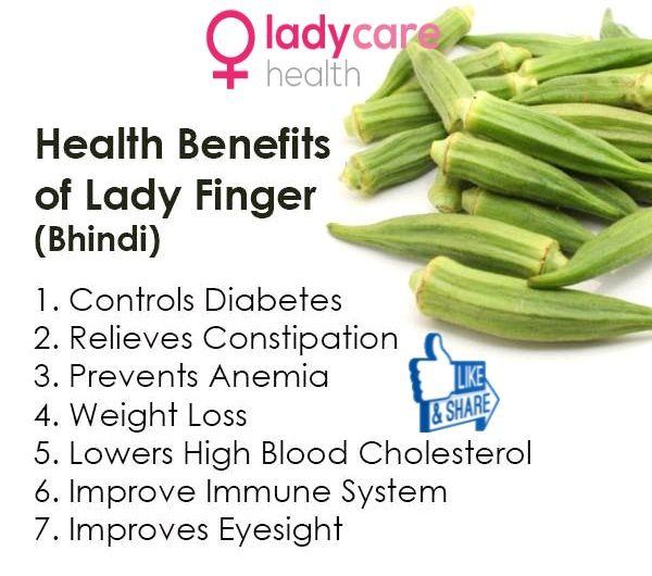 Health Benefits Of Lady Finger   Vegetables health ...