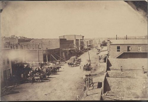 "Sleepy Hollow Ford >> Traditional ""city"" in Kansas, 1860-70s 