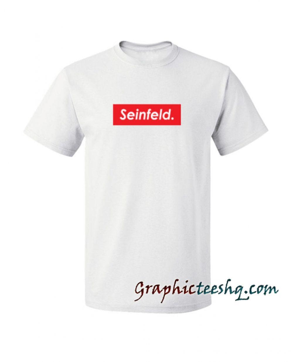 Seinfeld Supreme Tee Shirt Seinfeld Supreme Tee Shirt //Price: $13.50 //