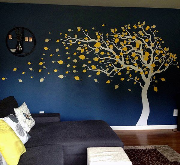 blowing in the wind wall decal | basement ideas | baby room decals