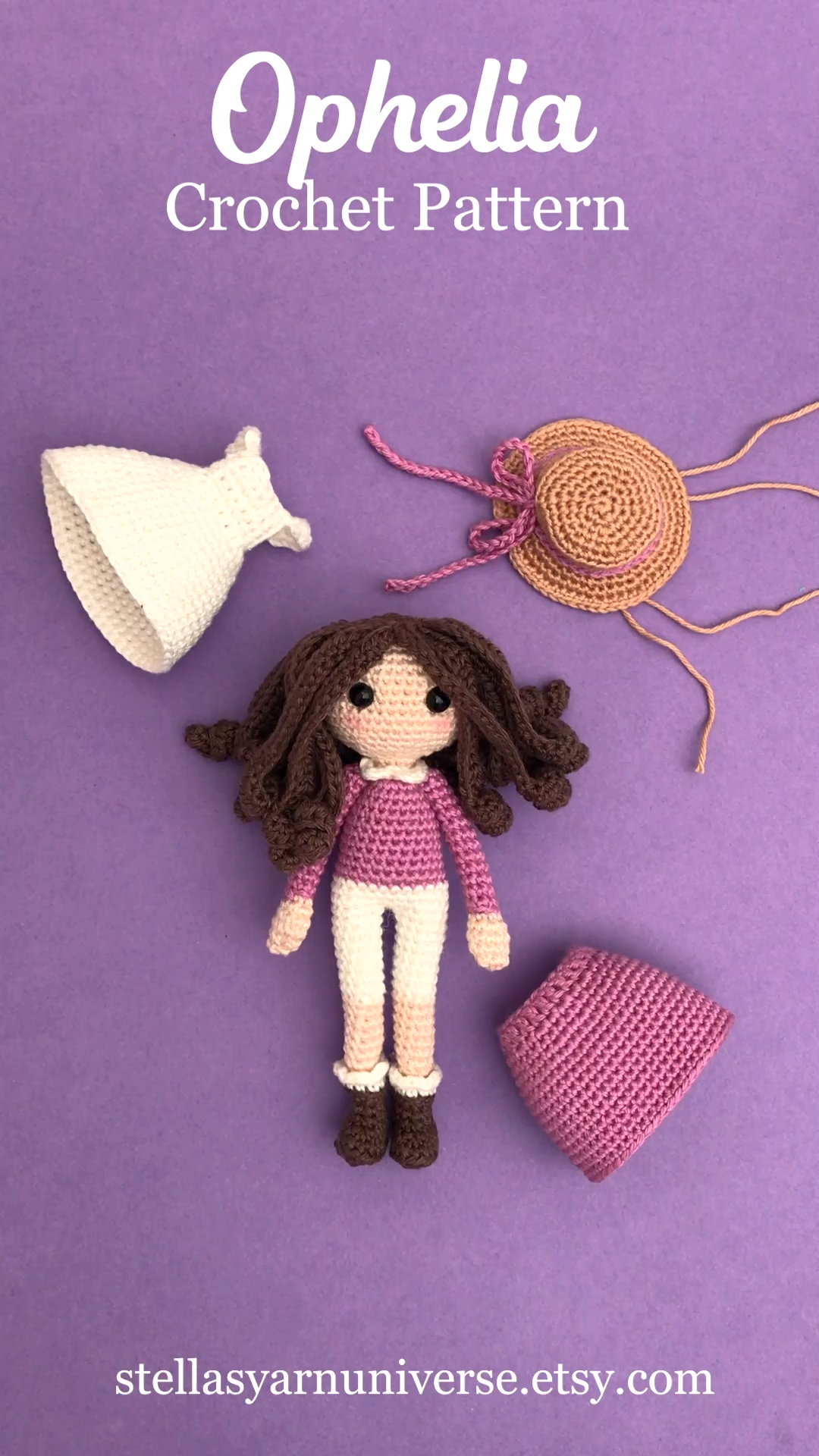 Photo of Amigurumi Doll Pattern Ophelia