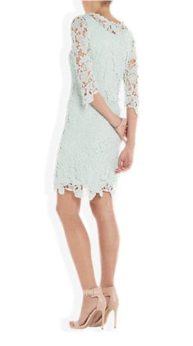 Crochet Dress Lichtblauw - Costes Fashion