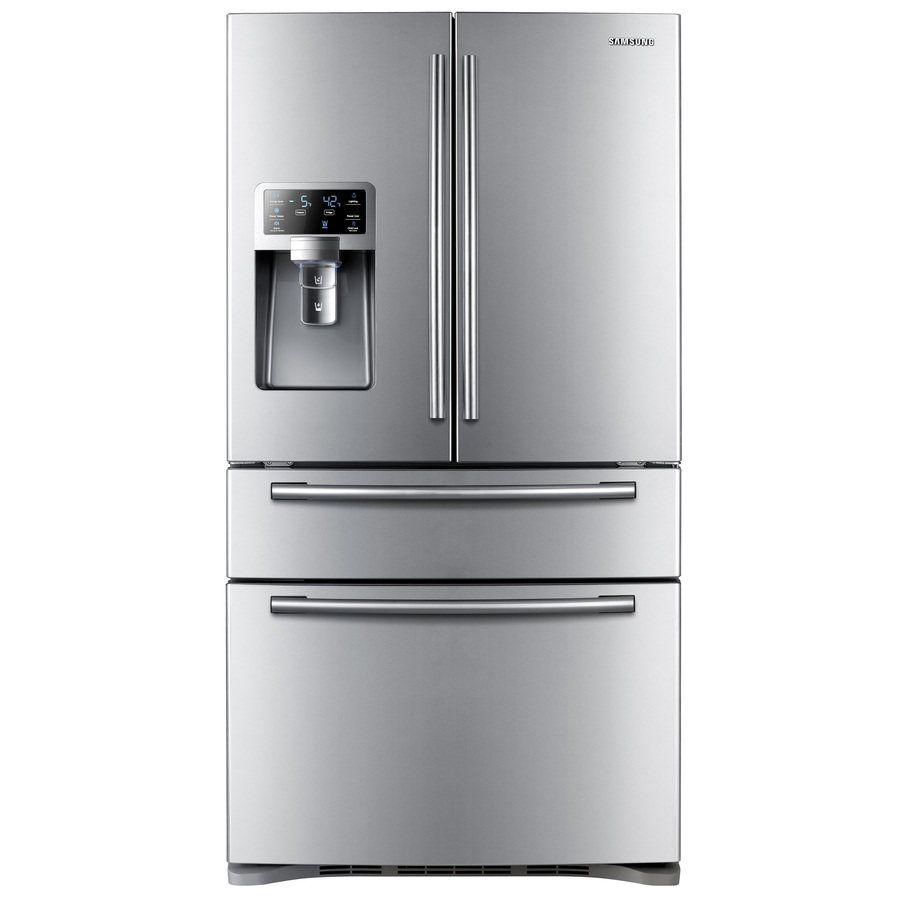 Energy Star Kitchen Appliances Samsung Rf4287hars Xac 4287 Series 28 Cubic Ft 4 Door French Door