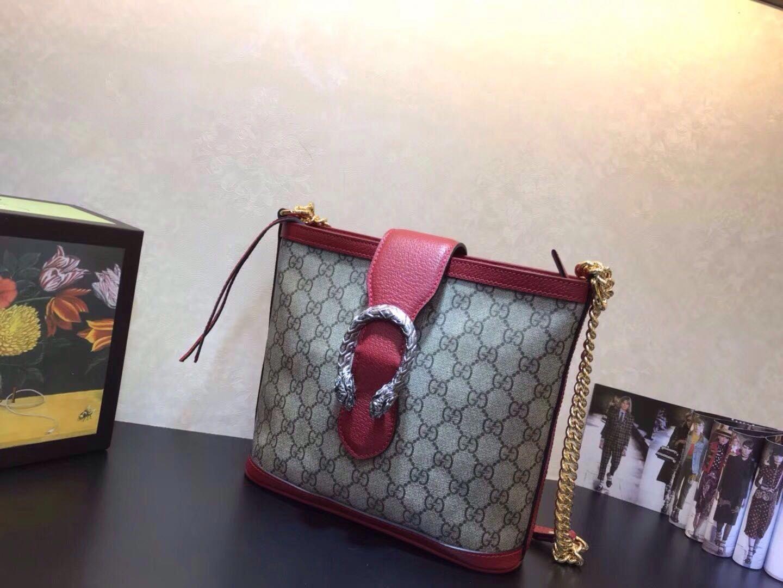 2a91fc0da64 Gucci Dionysus medium GG bucket bag  Guccihandbags