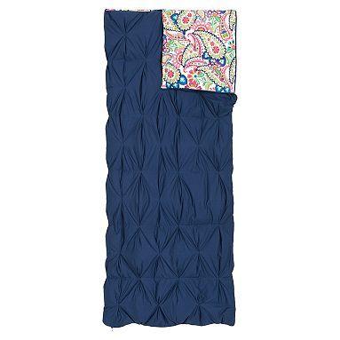 Pintuck Sleeping Bag + Pillowcase, Paisley @lorynmc your glamping bag!!! haha