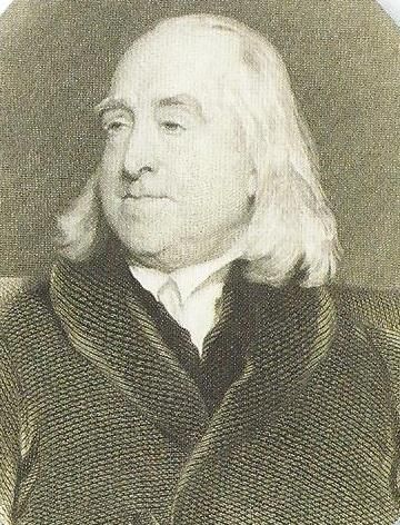Jeremy Bentham past copy holder of #whitchurchsilkmill