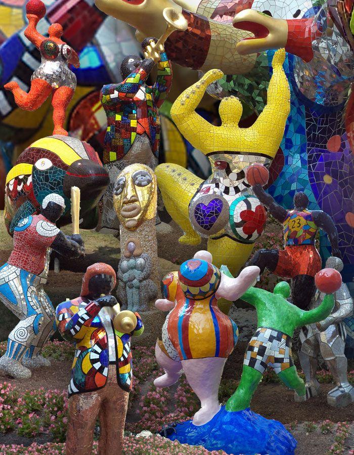 Niki De Saint-phalle : saint-phalle, Saint, Phalle, Ideas, French, Sculptor,, Sculpture, Sculptures