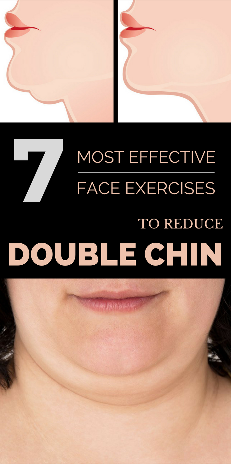 7 Most Effective Face Exercises to Reduce Double Chin | GetRemedies