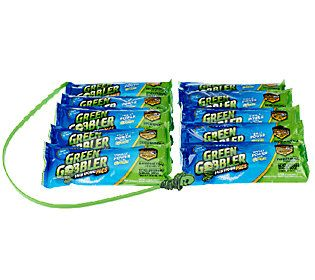 Green Gobbler Supersized 10 Drain Opener Packets w Drain Stick