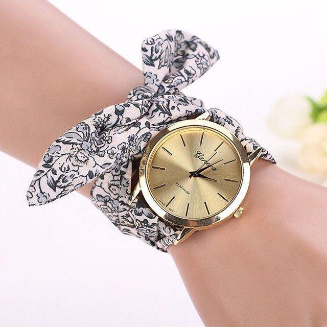 Vogue Fl Strap Geneva Watch Bracelet Products Pinterest And