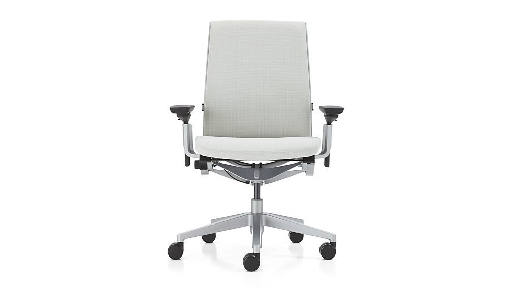 Steelcase Think Office Chair In Chalk 859 White Office Chair