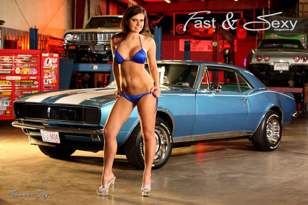 sexy hot rod models