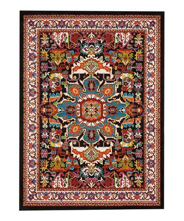 Love This Black Oriental Oakdale Rug On Zulily