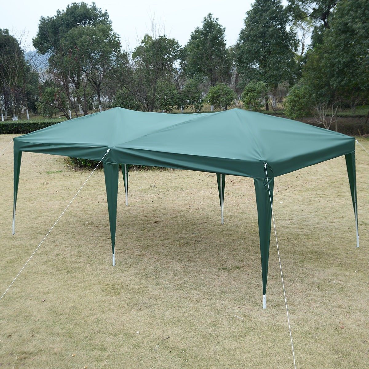 10 X 20 Ez Pop Up Folding Wedding Party Tent Cross Bar Gazebo Party Tent Tent