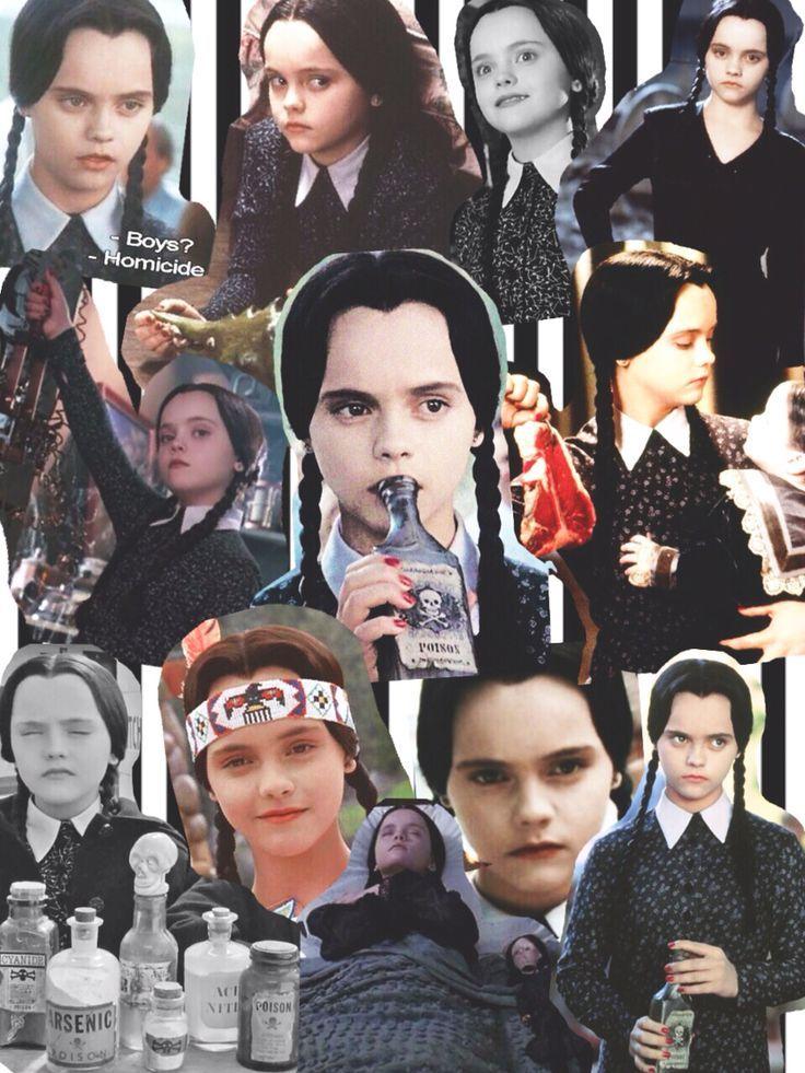 Resultado De Imagen De Morticia Addams Collage Tumblr Blah Blah