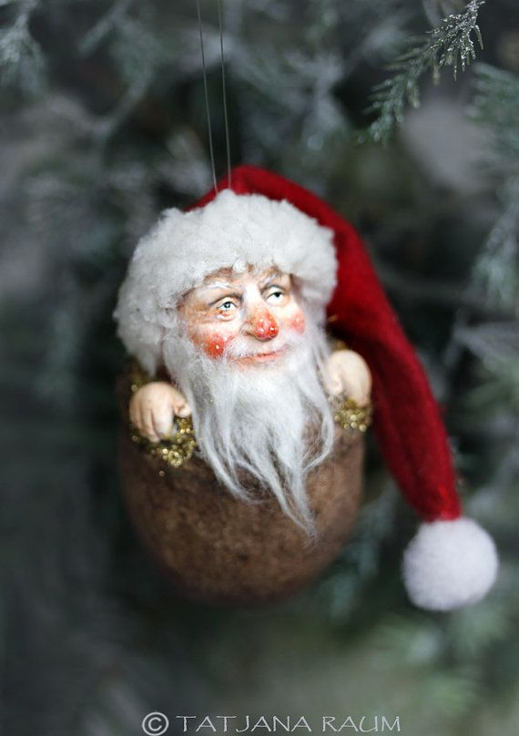 Santa Claus, Weihnachtsmann, Christbaumschmuck