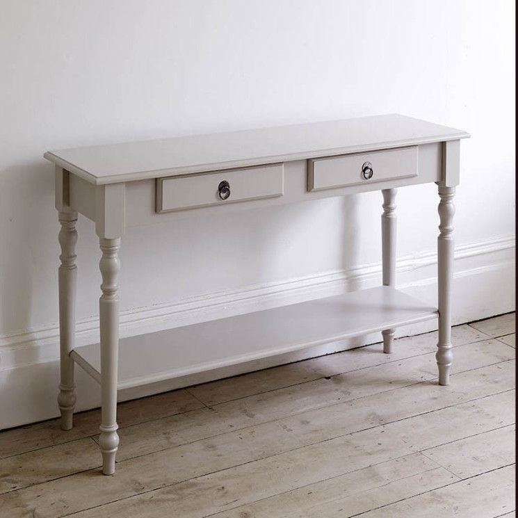 15 Astonishing Narrow Console Table With Drawers Snapshot Idea