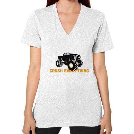 Crush Everything V-Neck (on woman) Shirt