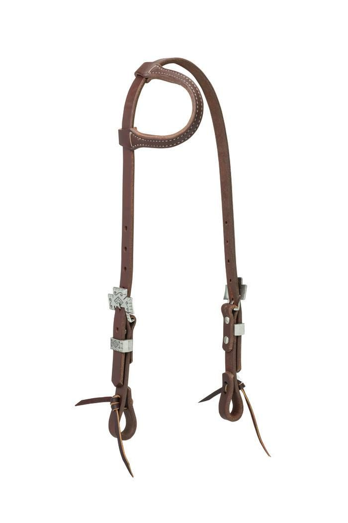 """Tough-1 King Series Complete Browband Bridle with Reins and 5/"""" Curb Bit"""