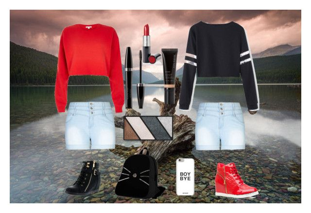 """Duo."" by dolphinchic-dancr on Polyvore featuring Top Moda, City Chic, River Island and Mary Kay"