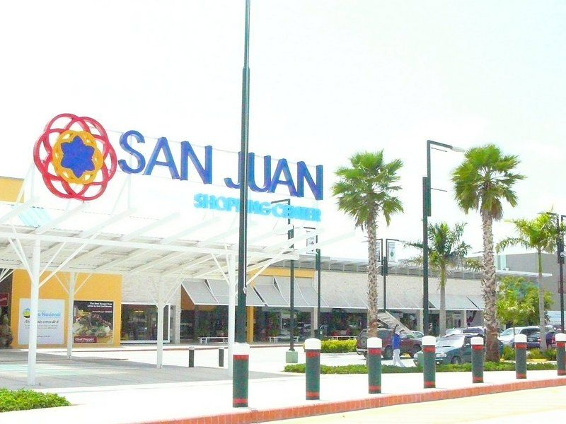 Plaza San Juan Is Located At Carretera Barcelo Km 9 Just Off The New Highway With A Large Assortment Of Shops Includi Punta Cana Shopping Destinations San