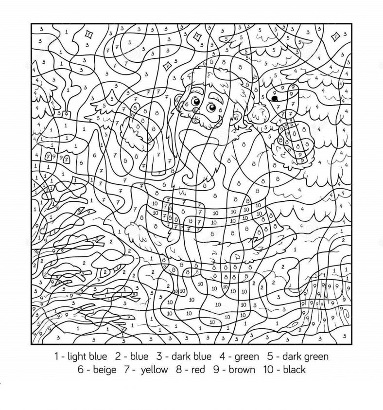Christmas Color By Numbers Christmas Printables Kids Free Christmas Coloring Pages Christmas Colors