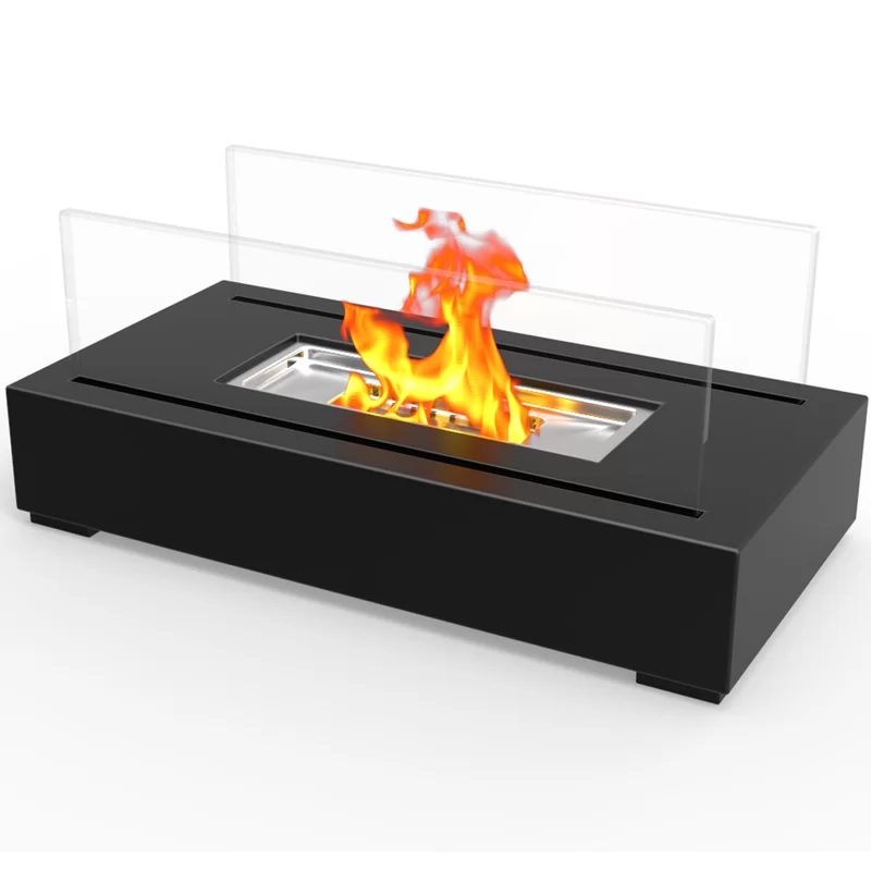 Utopia Ventless Portable Bio Ethanol, Portable Tabletop Fireplace