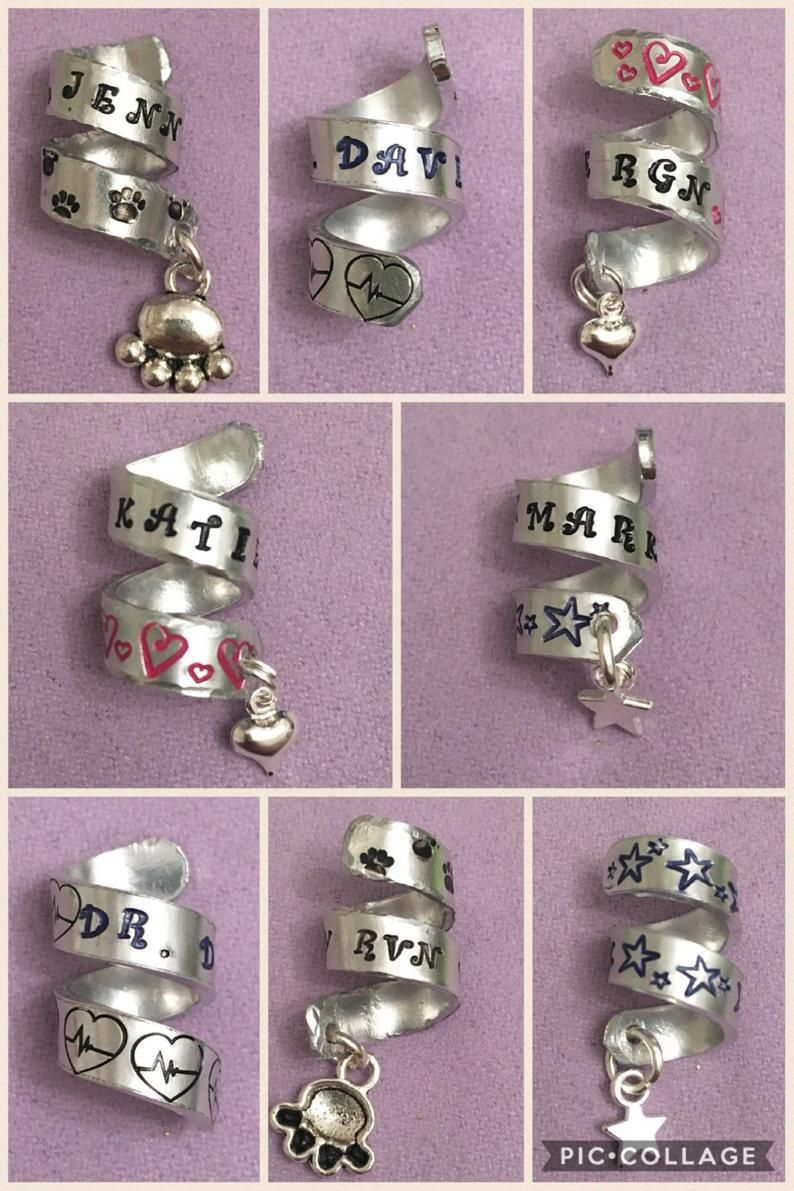 Gift for Doctor Personalized Stethoscope ID Tag Gift for Nurse Dog Stethoscope Charm Custom Stethoscope Tag for Nurse