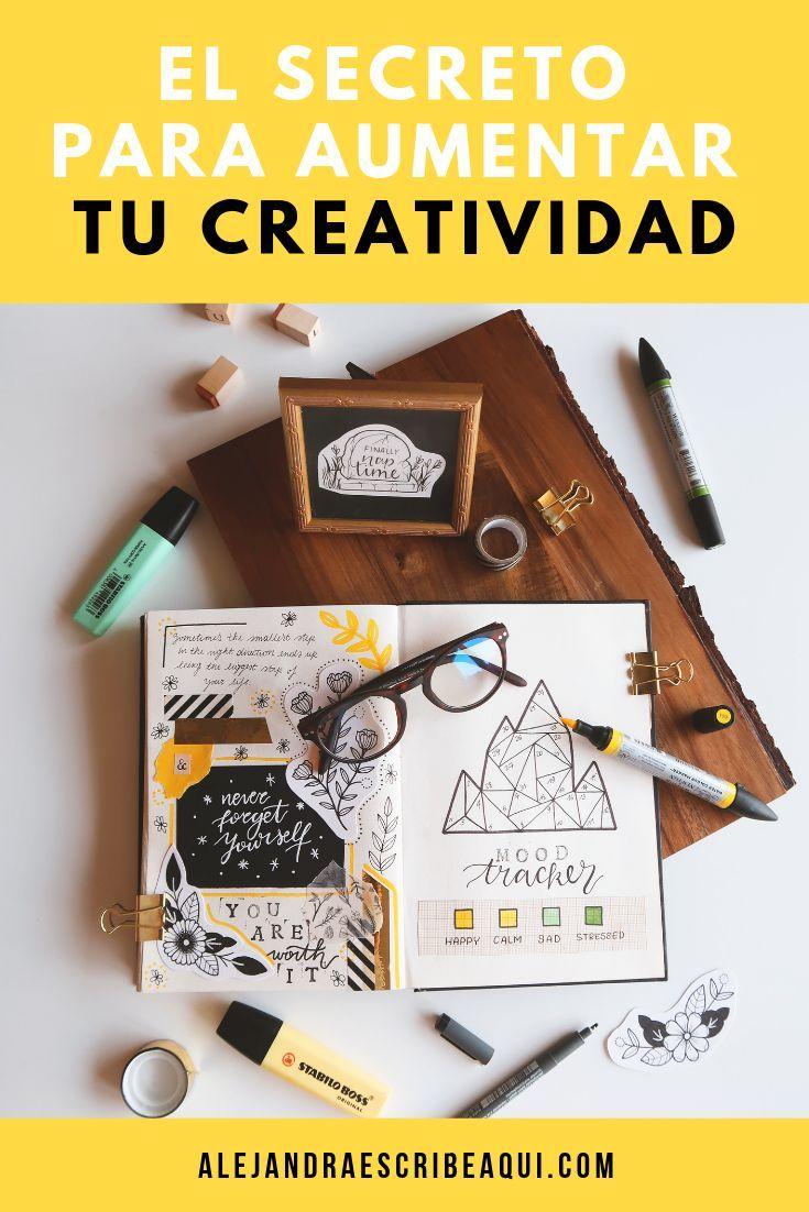 El mejor secreto para aumentar tu creatividad