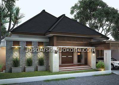 Desain Rumah 2 Lantai Luas Bangunan 240 M2 Bp Hafiz Jakarta Desain Rumah Rumah Arsitek