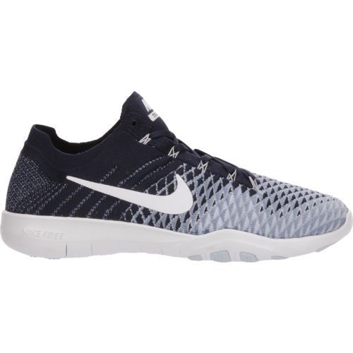7eb502d2109781 ... low cost academy sports nike womens nike free flyknit 2 training shoes  cool grey white black