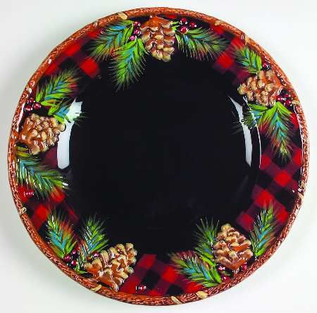 Replacements Ltd. Search plaid dinner plates WOODLAND SANTA PATTERN BY JCPENNEY & Replacements Ltd. Search: plaid dinner plates WOODLAND SANTA ...