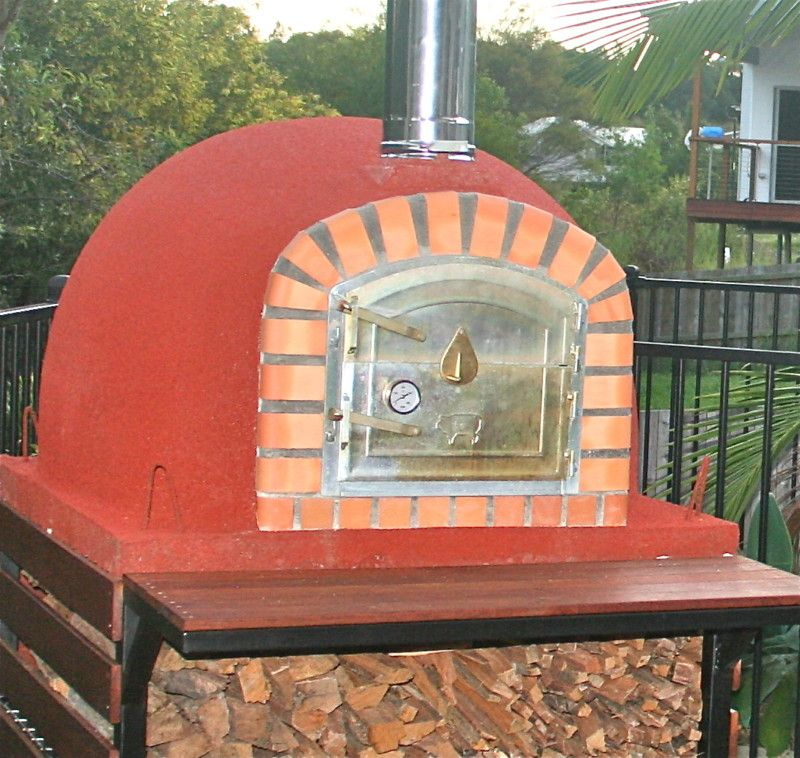 Four a Bois a Pizza pour votre Jardin! Four a pizza Pinterest