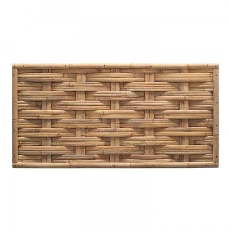 Gevlochten Bamboescherm 90 x 180 cm Bamboe