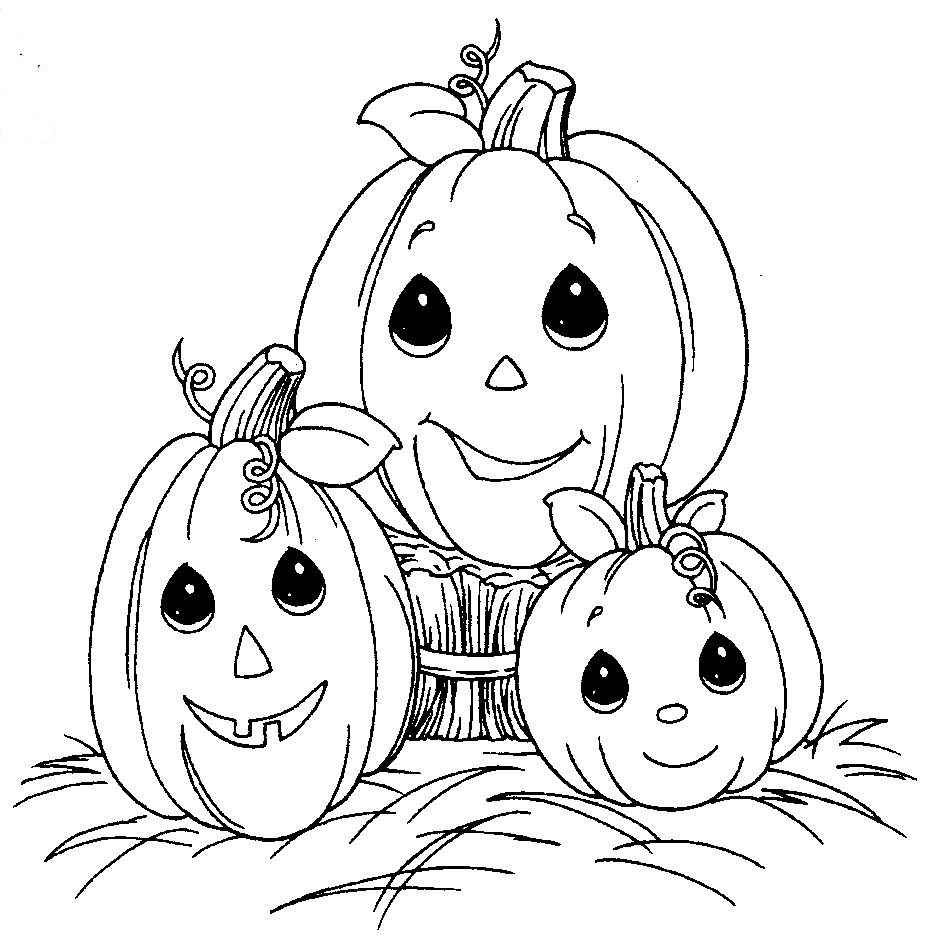 free halloween coloring pages | HALLOWEEN COLORINGS | Lorraine\'s Art ...