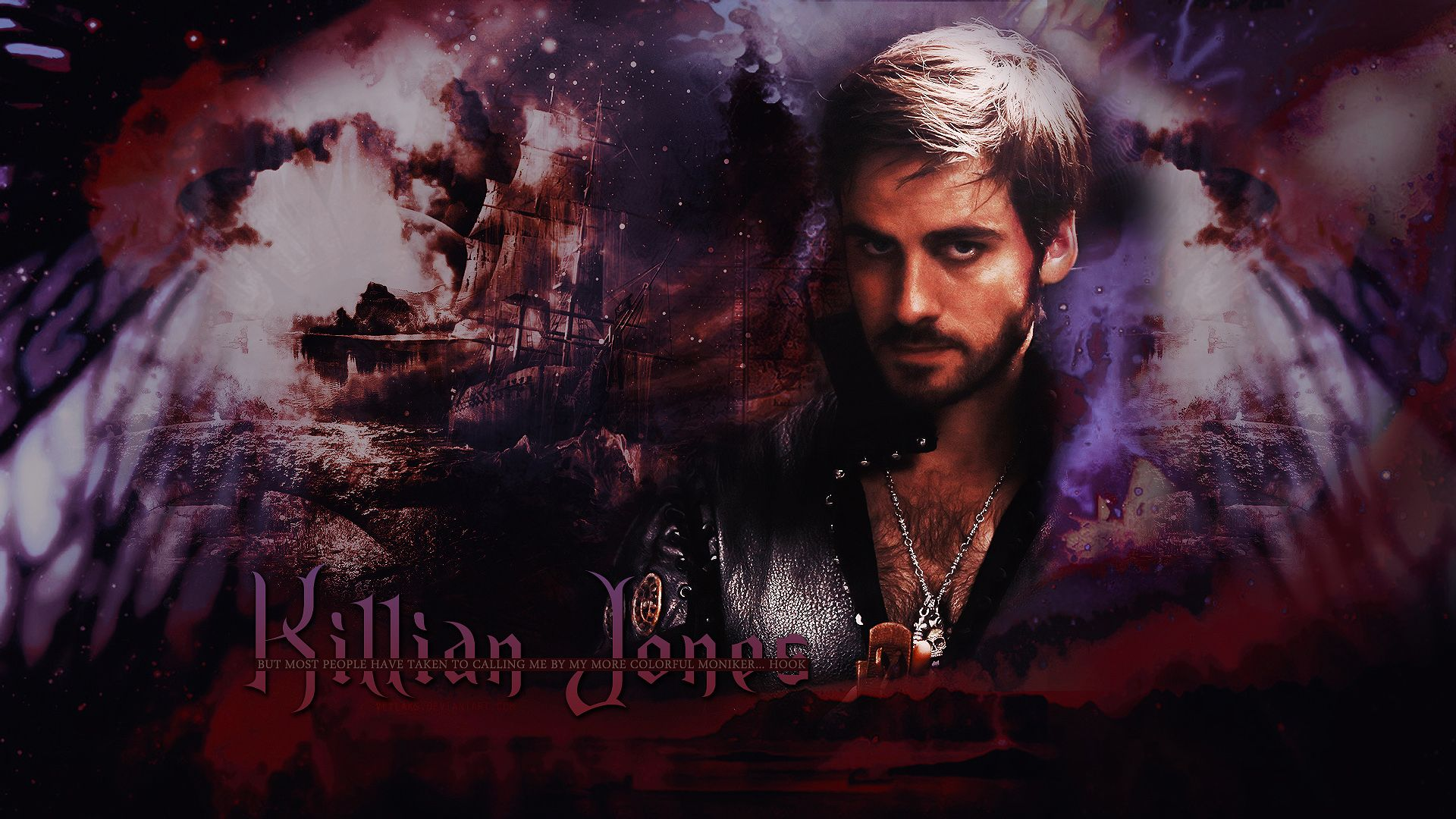 Once Upon A Time Wallpaper Captain Hook Killian Jones Once Upon A Time Captain Hook