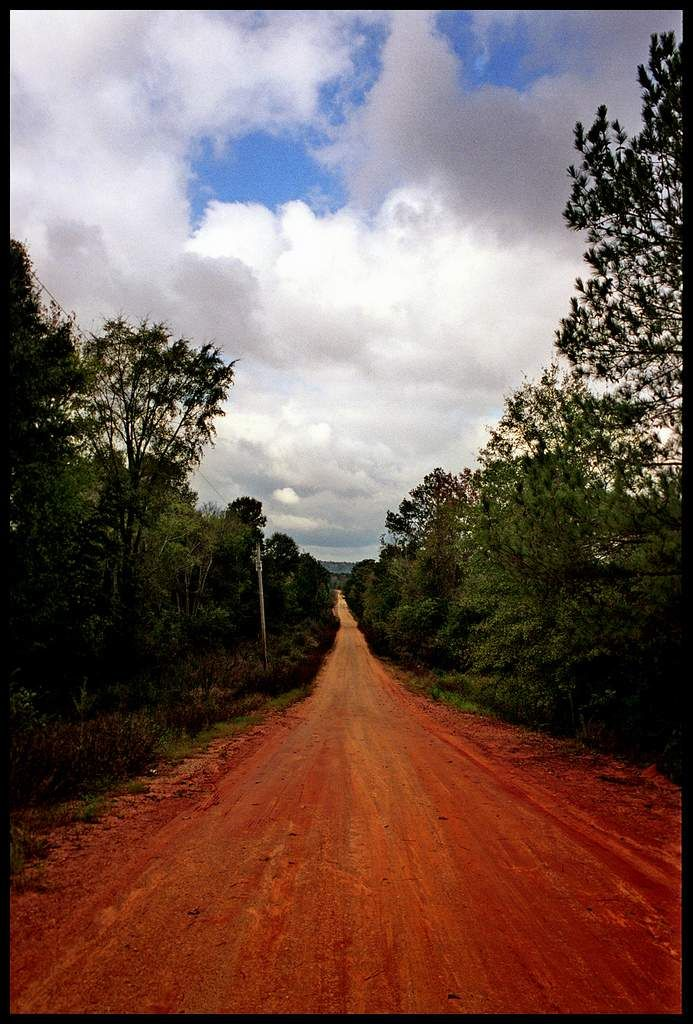 The Road To Paradise The Red Clay Road That Leads To Paradise