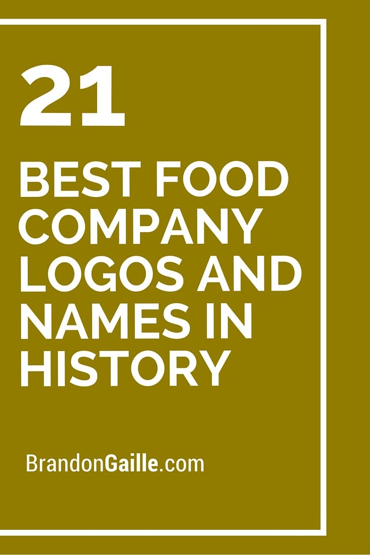 Best Food Company Logos and Names in History | Logos and Names