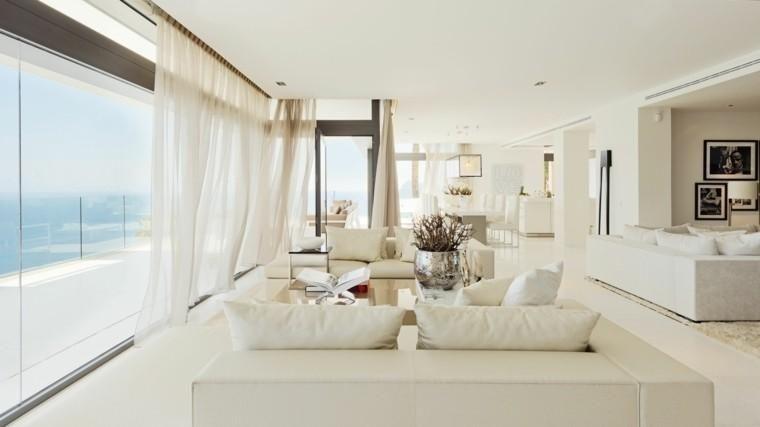Weiße Innenausstattung, die Ihr Zuhause verschönern wird Interior