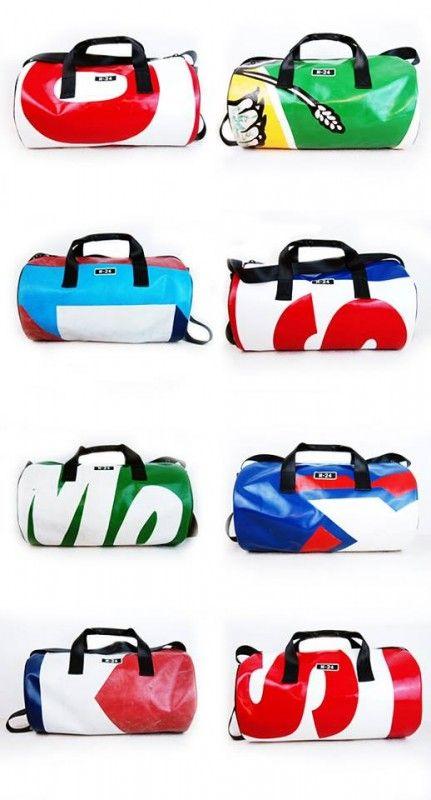 Truck Tarp Duffel Bag Bags Urban Bags Duffel Bag