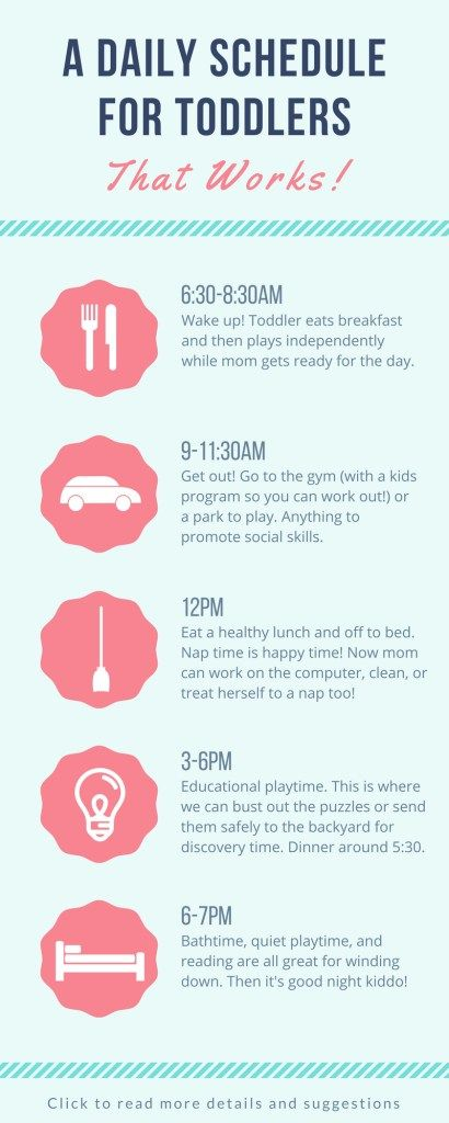 The Toddler Daily Schedule Tips And Suggestions Toddler
