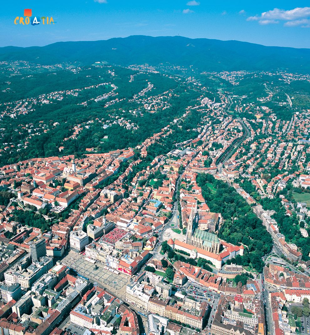 Zagreb Croatia S Capital Has A Large Number Of Green Oases And Walks Numerous Excursion Sites In Beautiful Surroundings Zagreb City Of Zagreb Zagreb Croatia