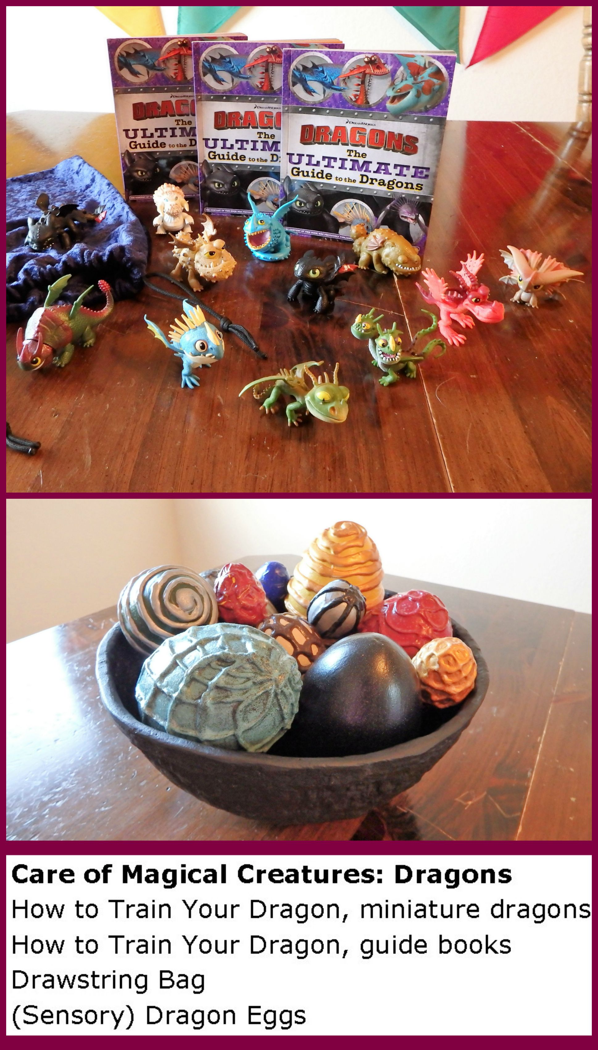 Harry Potter Inspired Activity Care of Magical Creatures