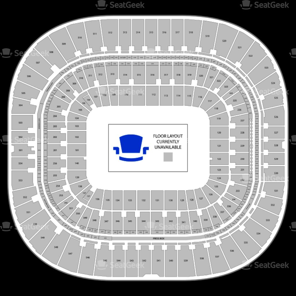 Bank Of America Bank Of America Stadium Bank Of America Seating Charts