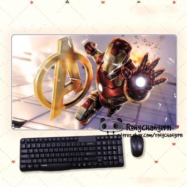 Endgame Superhero Mouse Pad Mat Game Playmat PC Keyboard Desk Mat Avengers