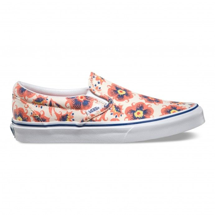 Vans Classic Slip-On Vintage Floral Women Multi