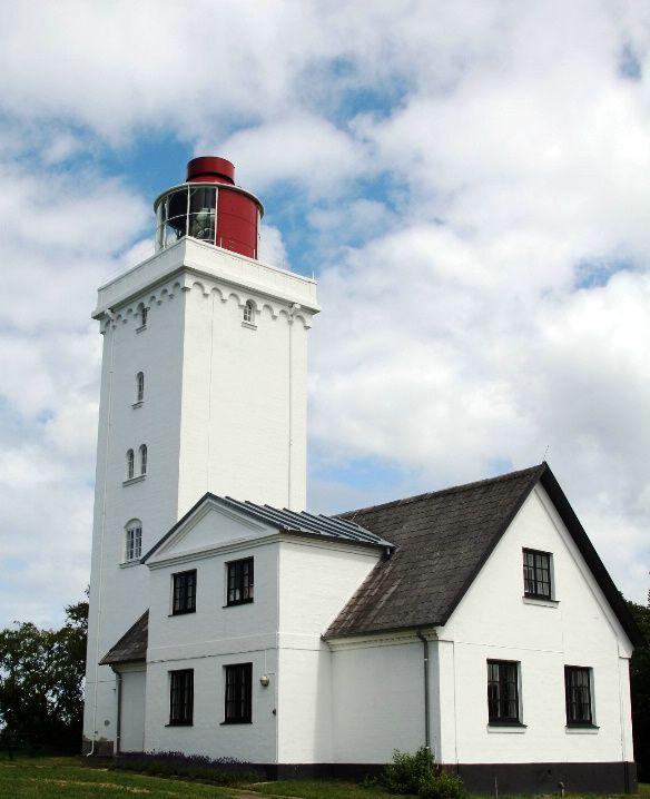 Gilleleje Lighthouse , Nakkehoved Østre Fyr, Denmark