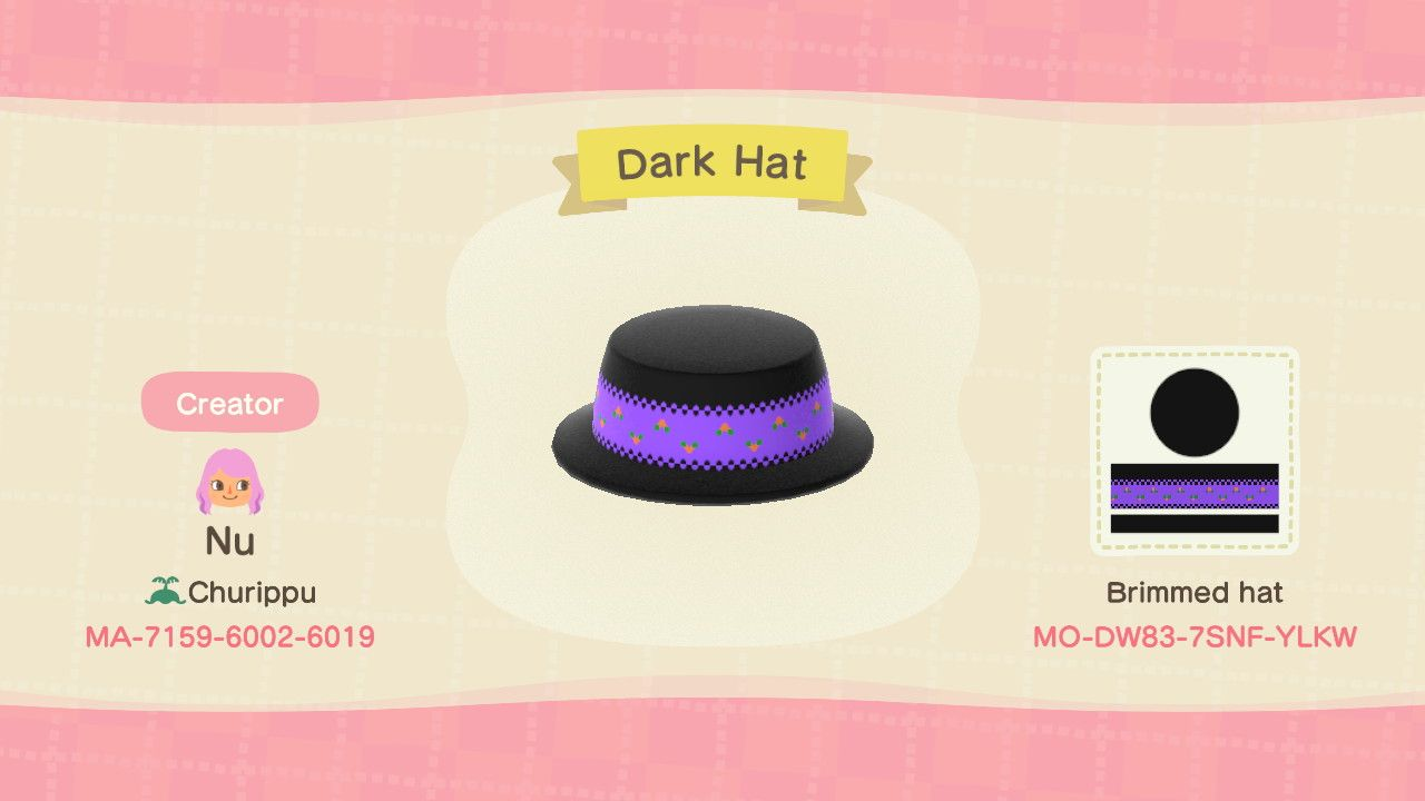 Download Through Kiosk In Able Sisters Store In 2020 Brim Hat