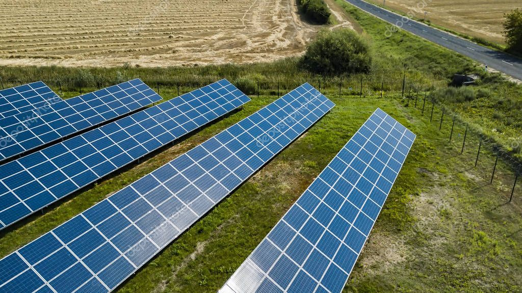 Aerial Green Rural And Solar Photovoltaic Panel Stock Photo Affiliate Rural Solar Aerial Green Ad Photovoltaic Panels Photovoltaic Solar